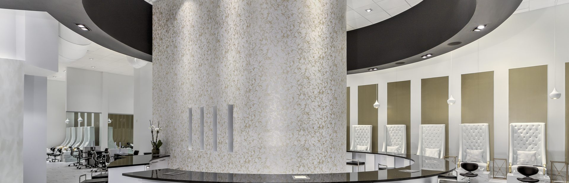 Luxury nail salon interior design - Cachet Nail Boutique Luxury Nail Salon Charlotte Nc Southpark South End